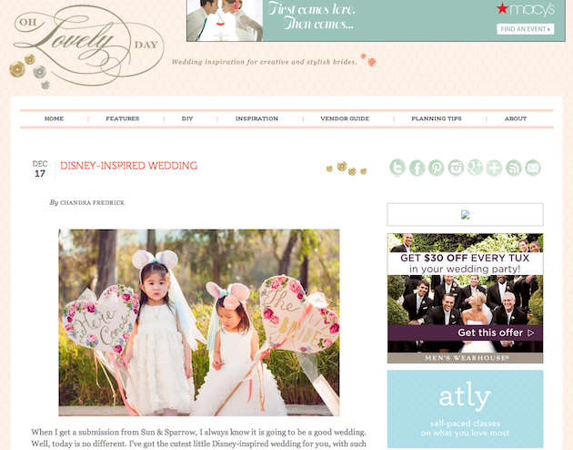 Featured on Oh Lovely Day!