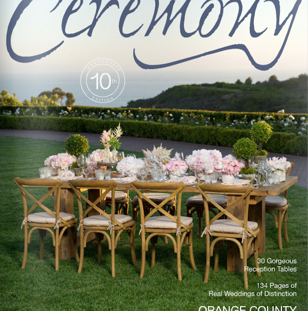 Featured in Ceremony Magazine!