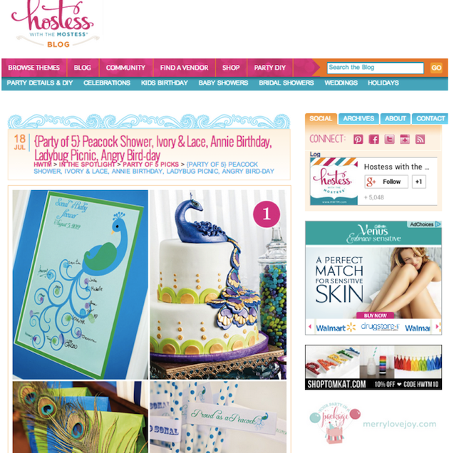Featured on Hostess with the Mostess!