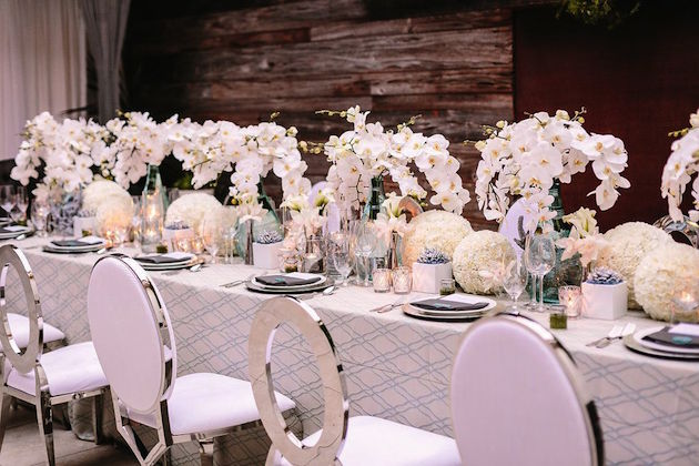 """""""Modern Ocean"""" Table Design Featured in Ceremony Magazine"""