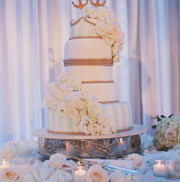 Ceremony Magazine Nautical Wedding: Ashley & Ian