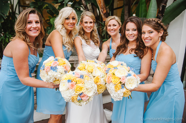 Real Wedding: Allyson & Trevor at the Waterfront Hilton