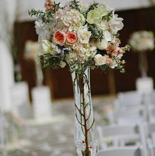 Romantic Blush Wedding | Betty Reckas Cultural Center