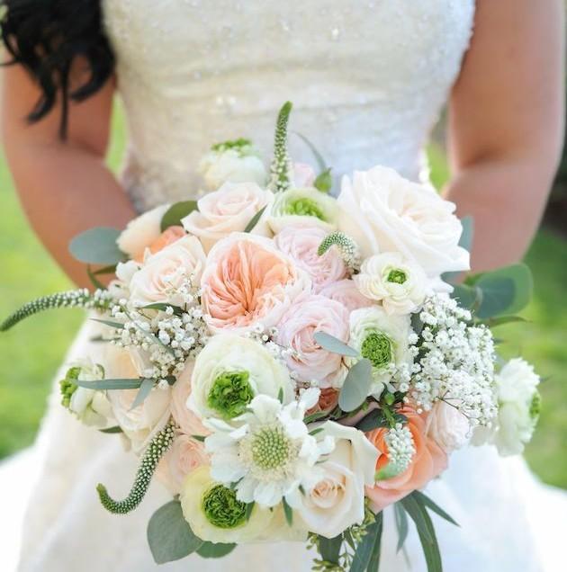 Romantic Blush and Mint Wedding | The Ritz Carlton