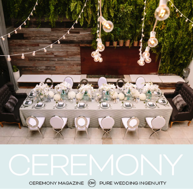 Featured on Ceremony Magazine Blog