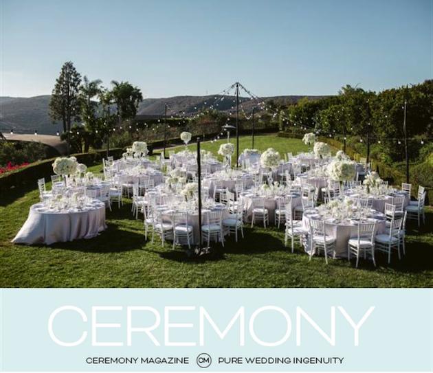 Featured in Ceremony Magazine San Diego