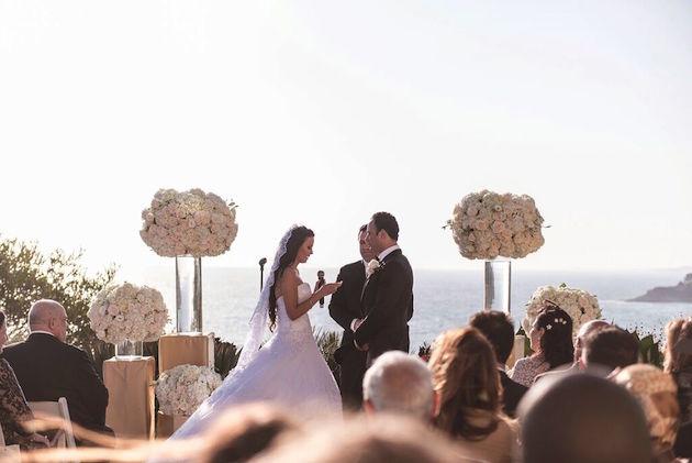Romantic Ritz Carlton Wedding