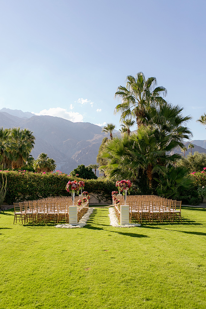 Palm springs estate flowers by cina for Property in palm springs