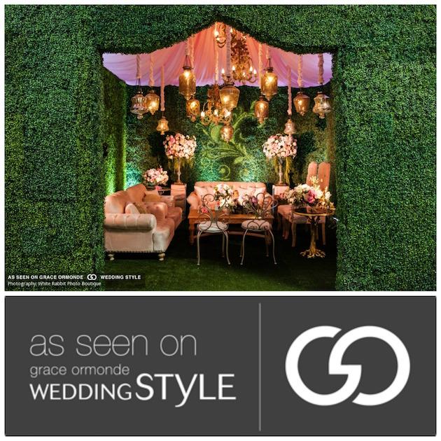 Featured on Grace Ormonde Wedding Style