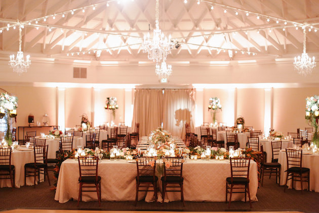 Romantic Casino San Clemente Wedding