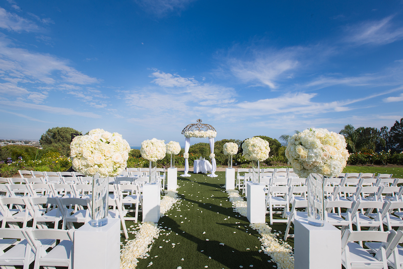Flowers By Cina Laguna Cliffs Marriott Wedding Lin