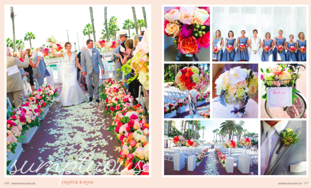 Ceremony Magazin OC - Flowers by Cina