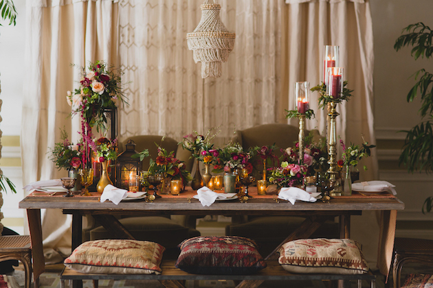 Bohemian Wedding Inspiration Featured on Strictly Weddings
