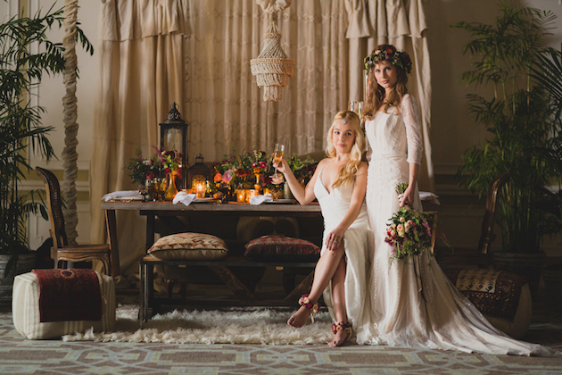 Strictly Weddings Boho Feature Flower by Cina