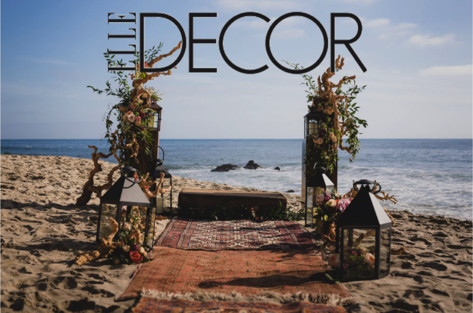 Featured on Elle Decor | Fall Wedding Ideas