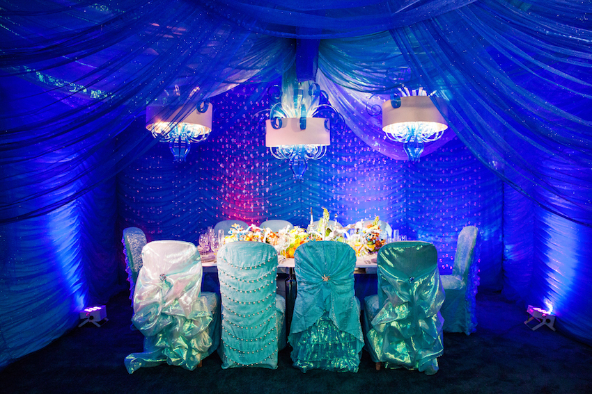 Under the Sea | Ariel-Inspired Tabletop Design
