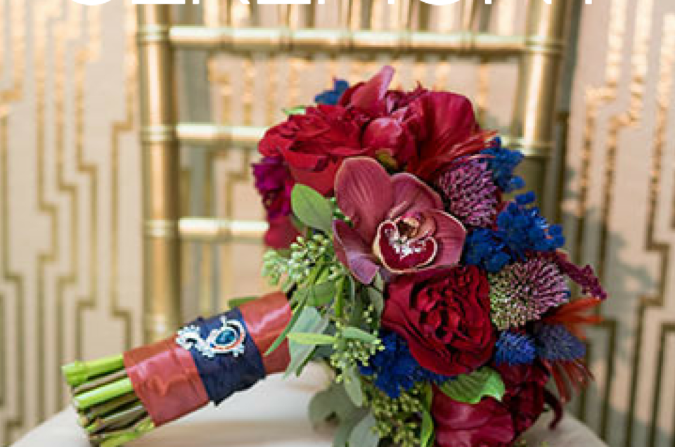 Bouquet Inspiration Featured on Ceremony Magazine