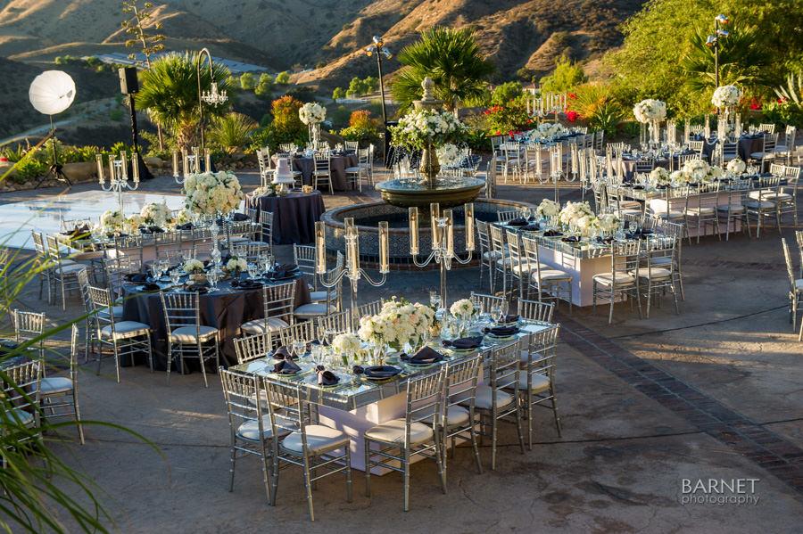 Hummingbird Nest Ranch Wedding Featured in Ceremony Magazine OC