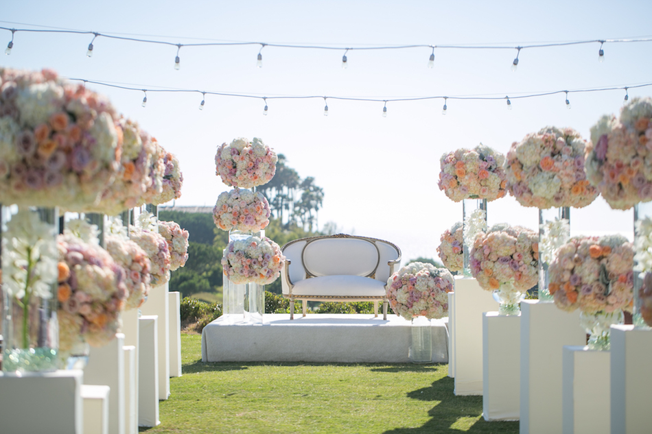 Romantic Monarch Beach Resort Wedding Featured in Ceremony Magazine