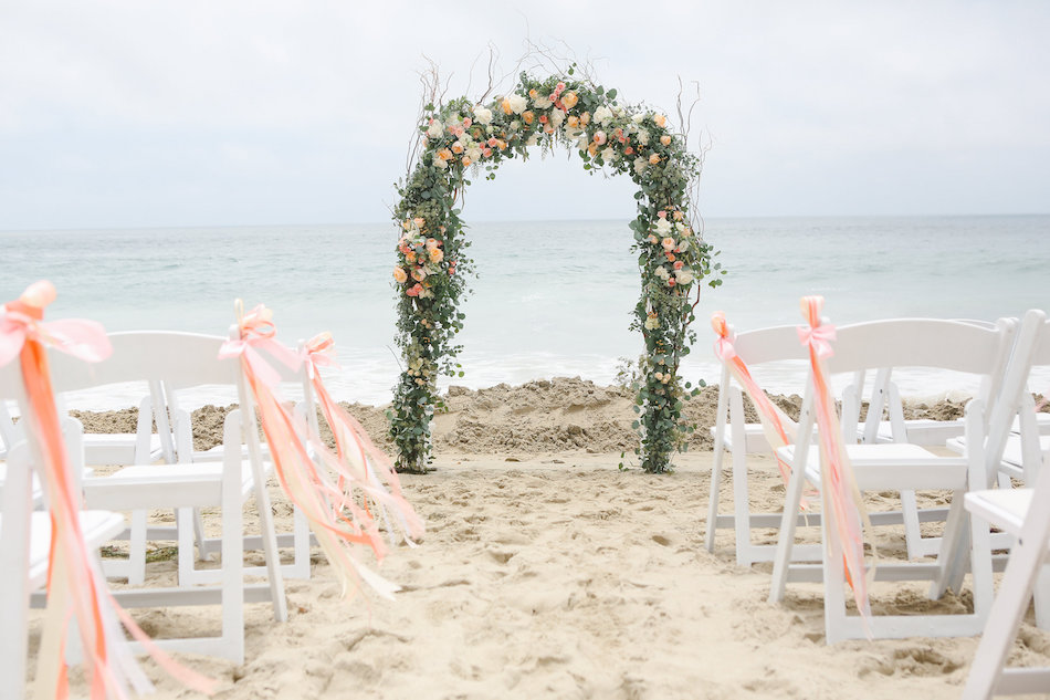 C Beach Front Wedding At Seven4one