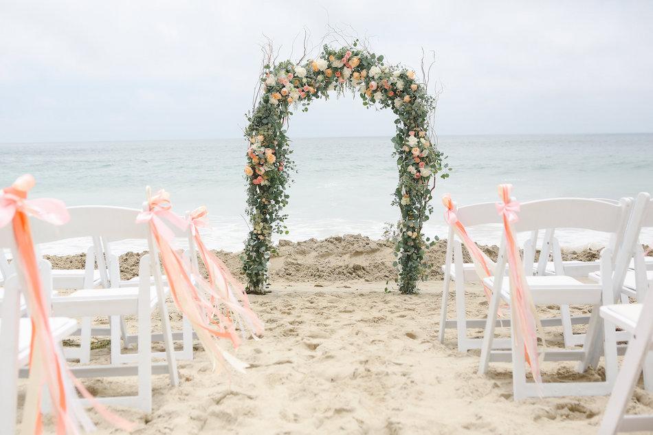 Mariage la plage couleur corail d coration forum - Mariage a la plage ...