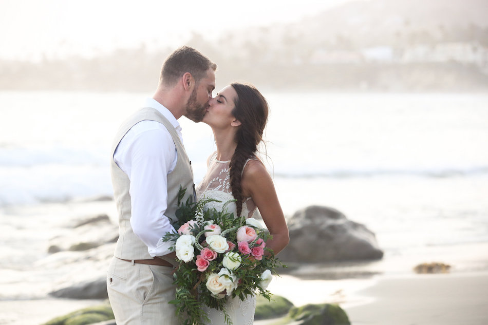 Coral Beach Front Wedding at seven4one