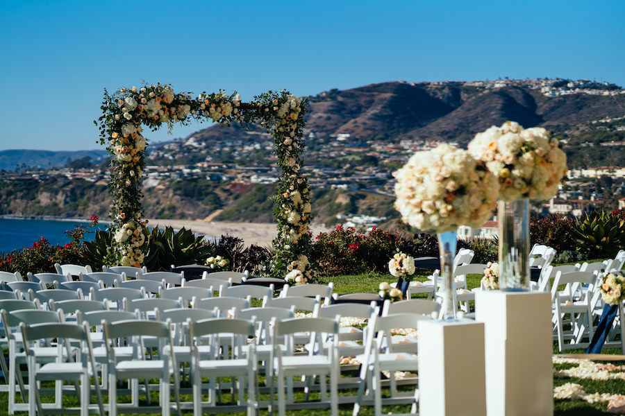Romantic Ritz Carlton Beach Wedding
