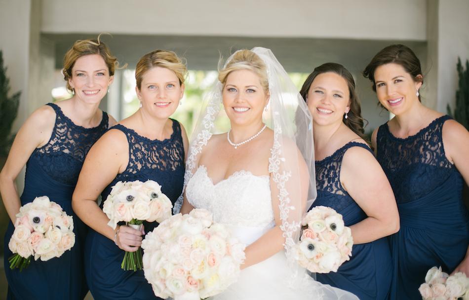 bridesmaids bouquets Huntington Beach Wedding