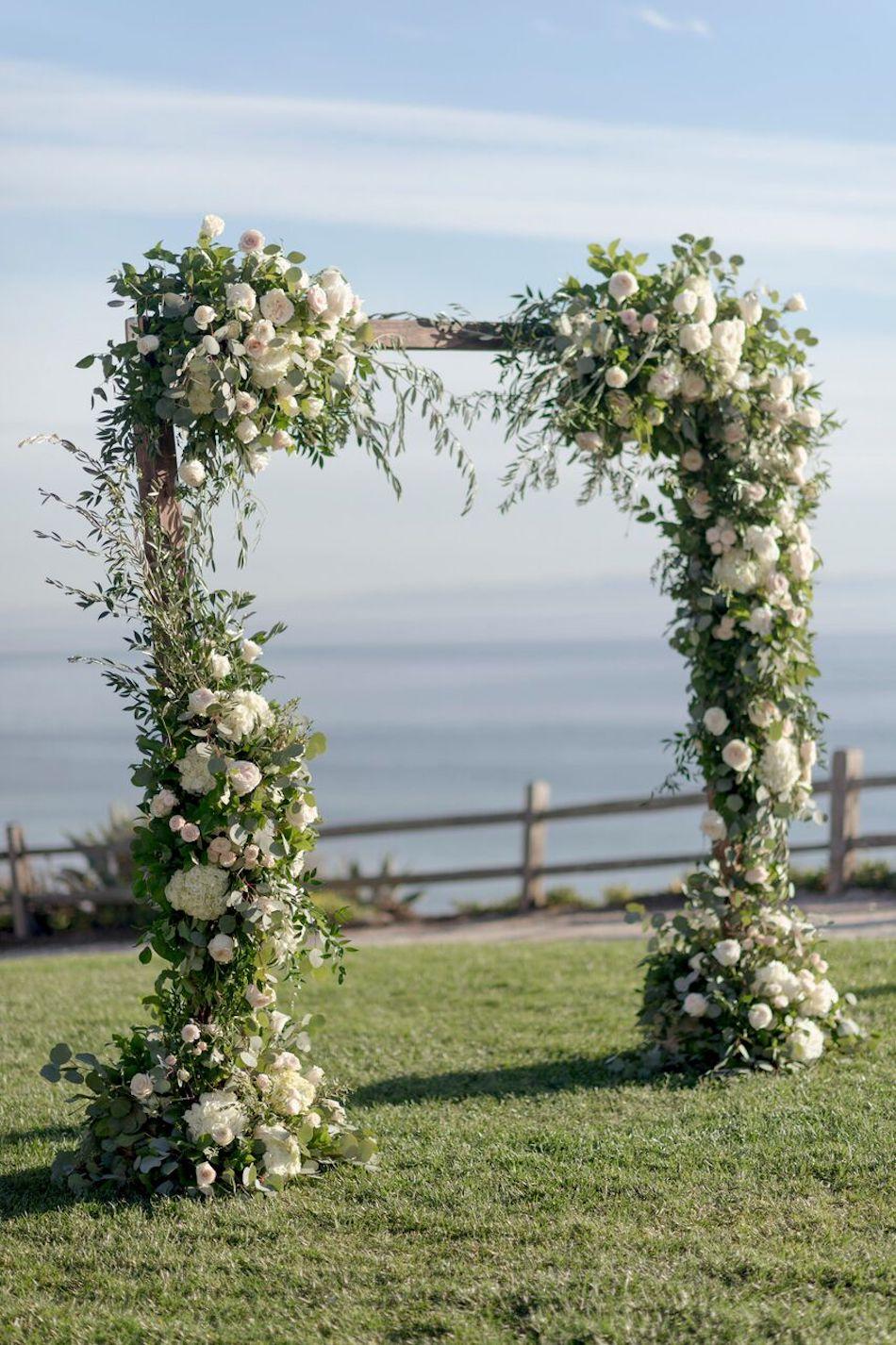 wedding arch, wedding flowers, white wedding, elegant white, wedding, ceremony, flowers by cina