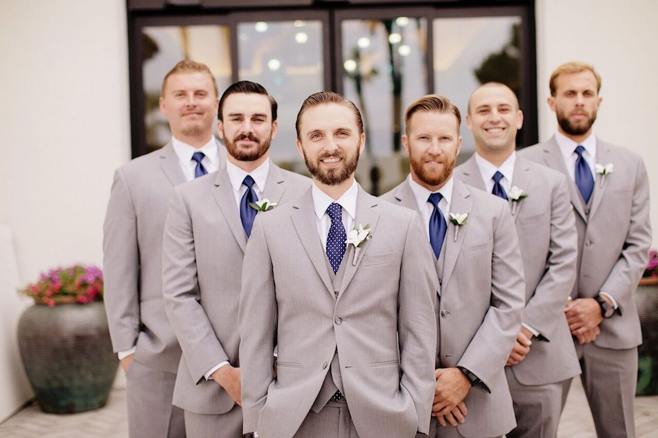 groom, groomsmen, navy, navy and white, wedding flowers, flowers by cina