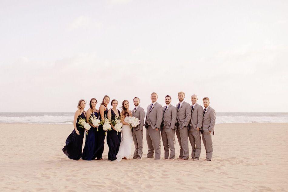 wedding party, beach wedding, navy and white, navy, navy wedding, beach wedding, wedding flowers