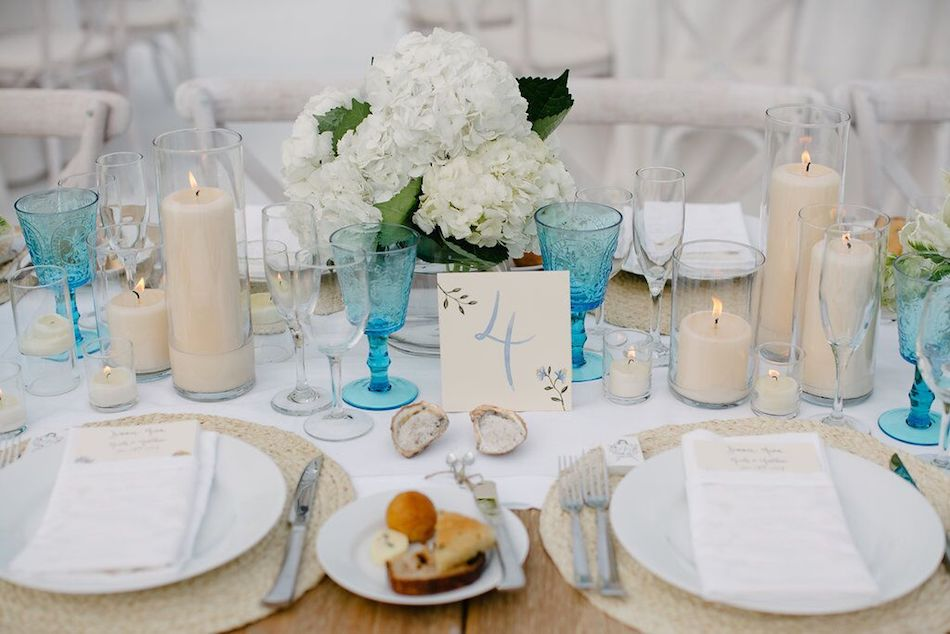 tabletop, ocean side, beach wedding, wedding, reception, table decor, wedding design, wedding flowers