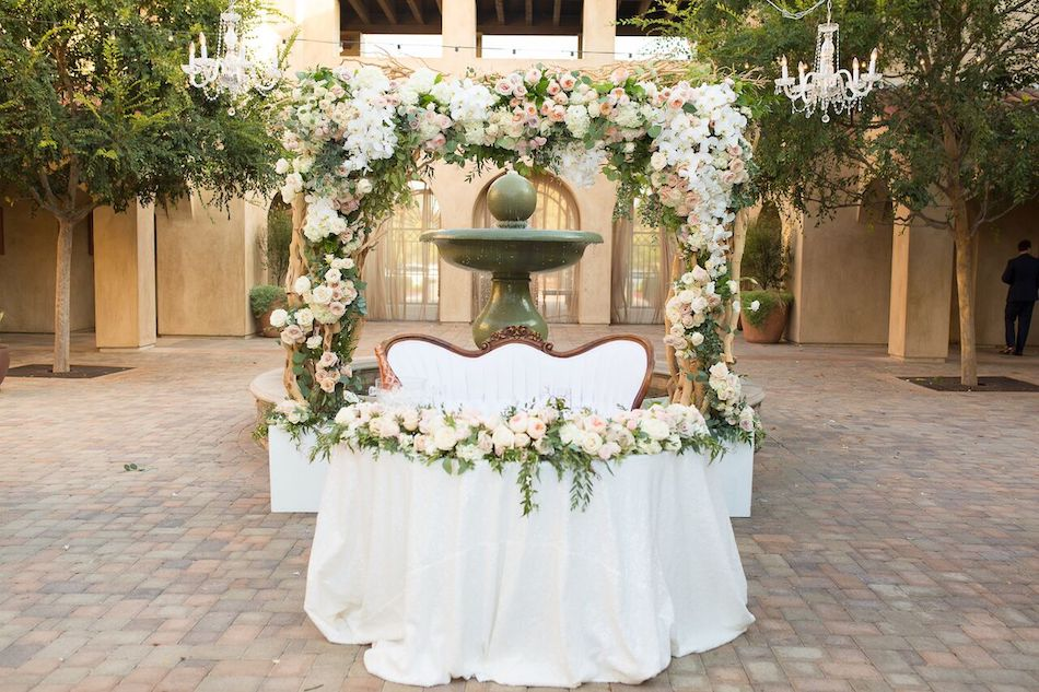 Romantic Blush Serra Plaza Wedding