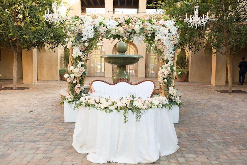 Romantic Blush Serra Plaza Wedding