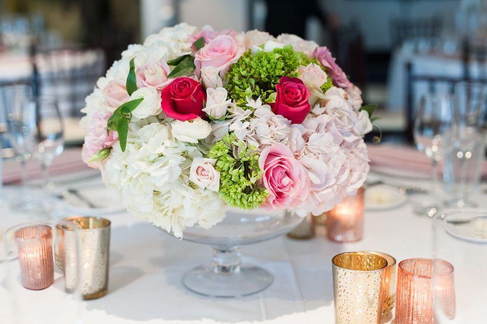 romantic pink, pink flowers, wedding, wedding flowers, flowers by cina, centerpieces, wedding reception
