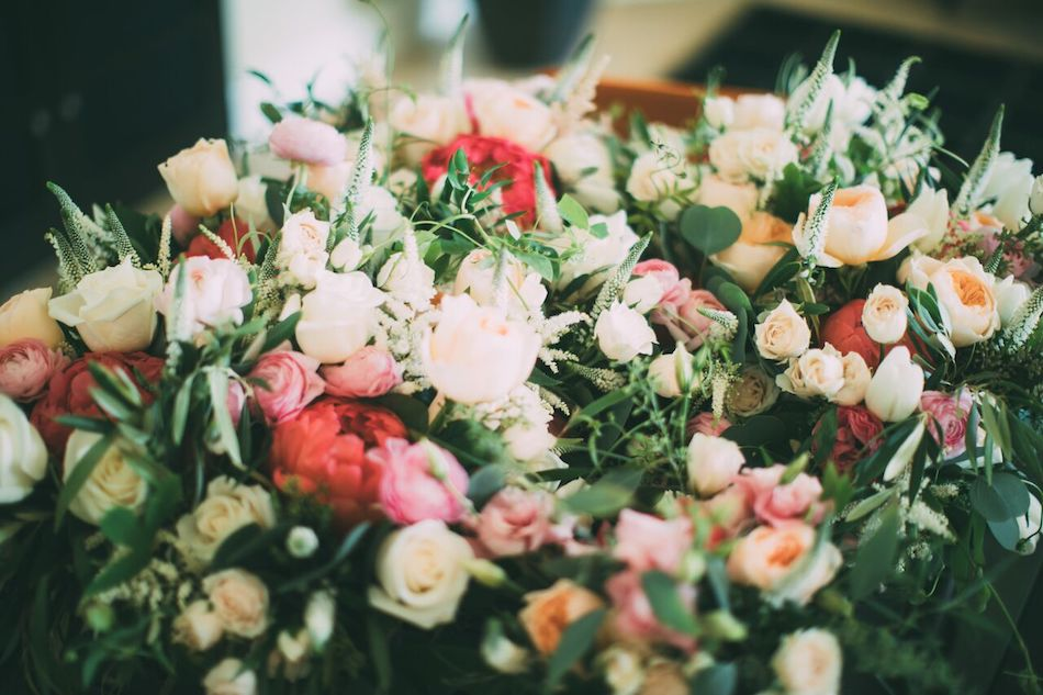 wedding flowers, blush, beautiful blush, flowers by cina
