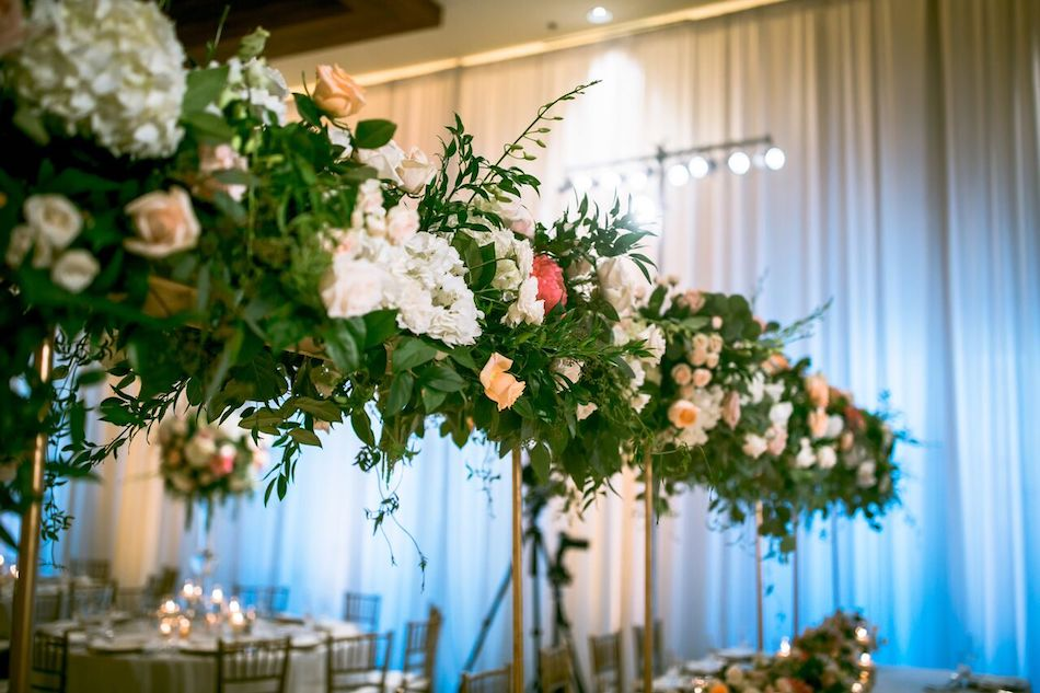 floral design, greenery, wedding, flowers, florist, beautiful blush