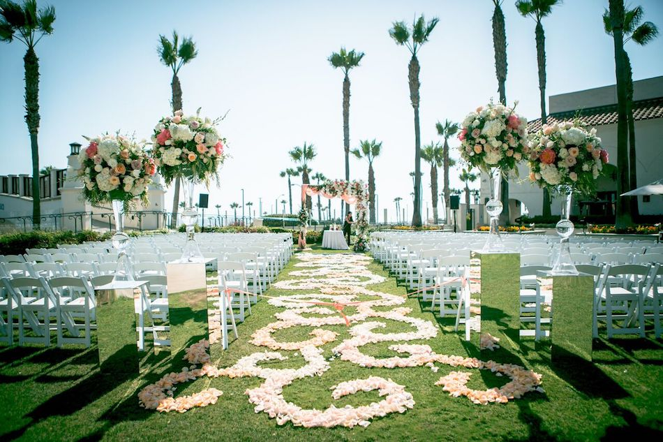 Beautiful Hyatt Regency Huntington Beach Wedding