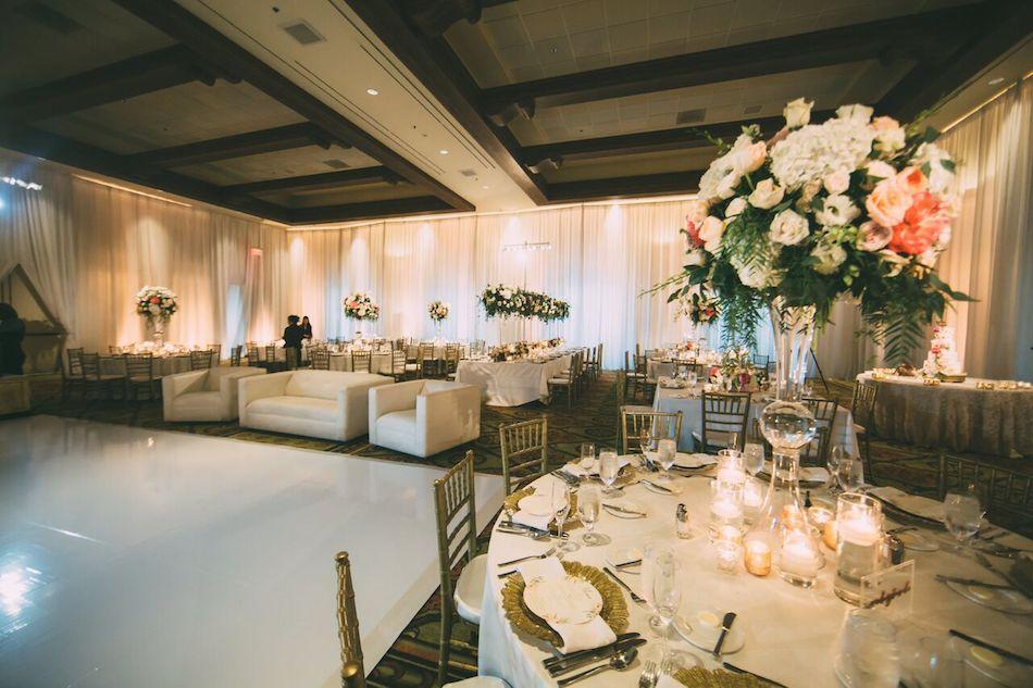 wedding reception, flowers, florist, flowers by cina, wedding, beautiful blush