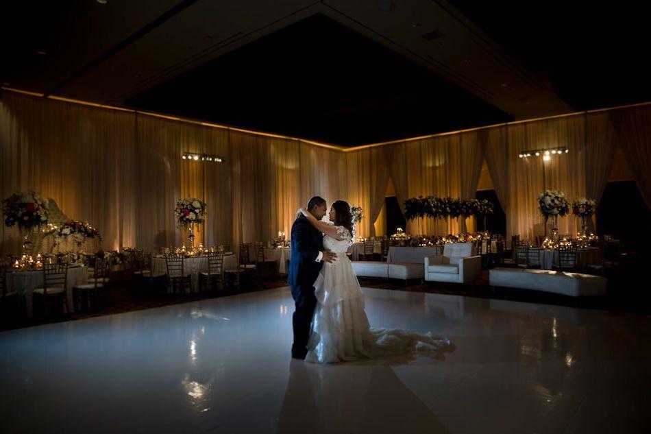dance, bride, groom, florist, wedding, wedding flowers, beautiful blush