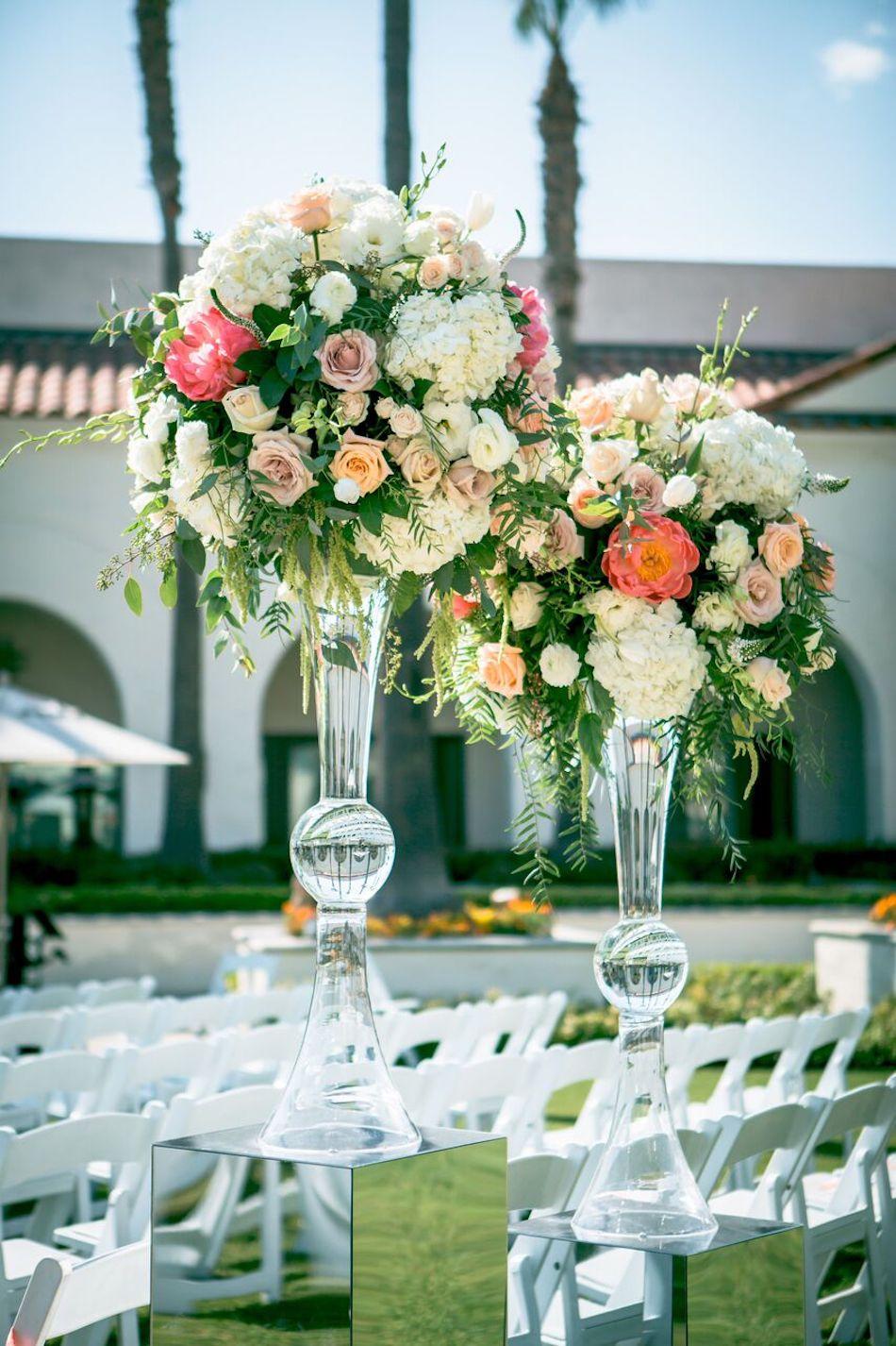 floral arrangements, flowers, wedding flowers, flowers by cina, beautiful blush
