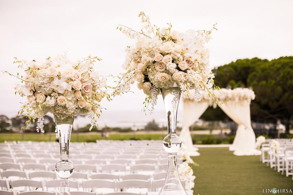 wedding flowers, wedding ceremony, flowers, enchanting laguna cliffs marriott, flowers by cina