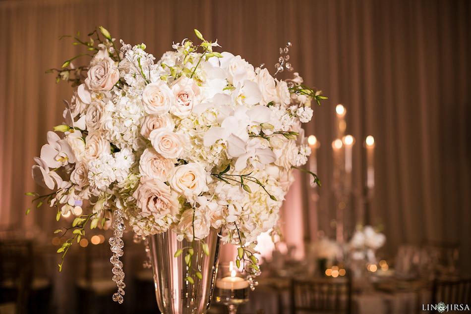 centerpieces, flowers, wedding florist, flowers by cina, enchanting laguna cliffs marriott, white flowers