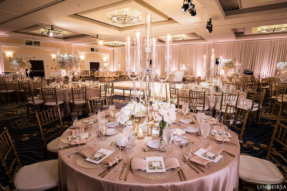 Reception Wedding Centerpieces Florist Enchanting Laguna Cliffs Marriott