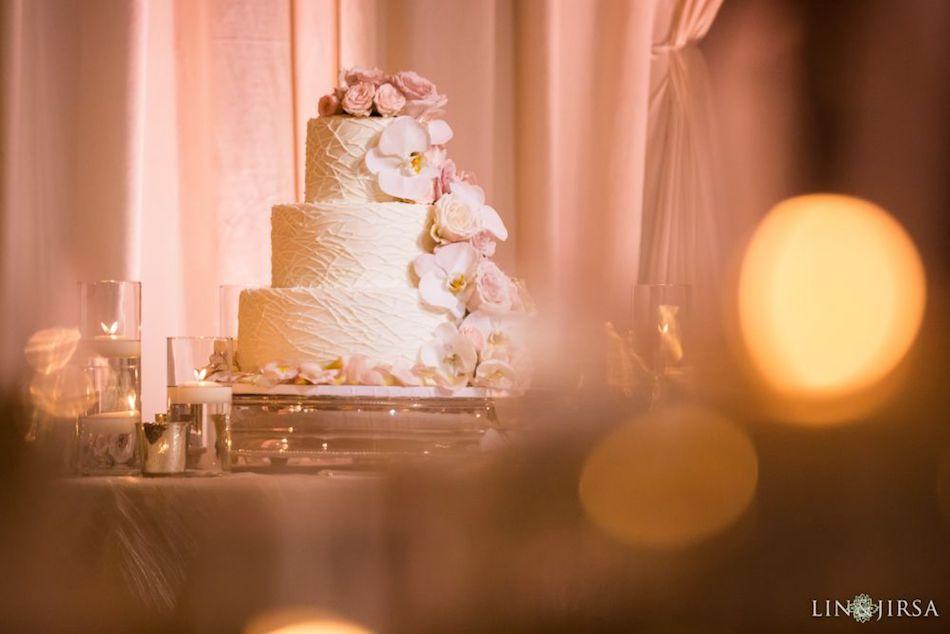 wedding cake, wedding flowers, monarch beach resort, floral design, flowers by cina, orange county wedding florist