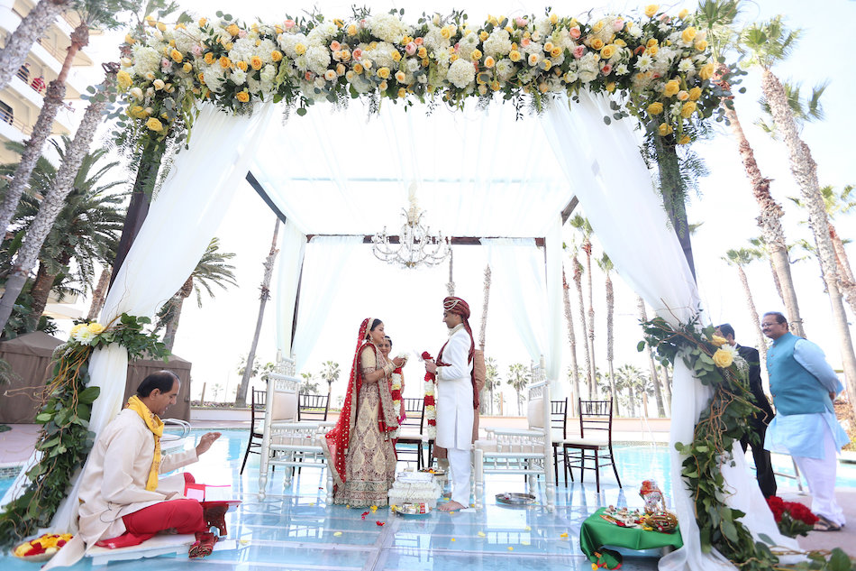 Indian Wedding Featured on Maharani Weddings