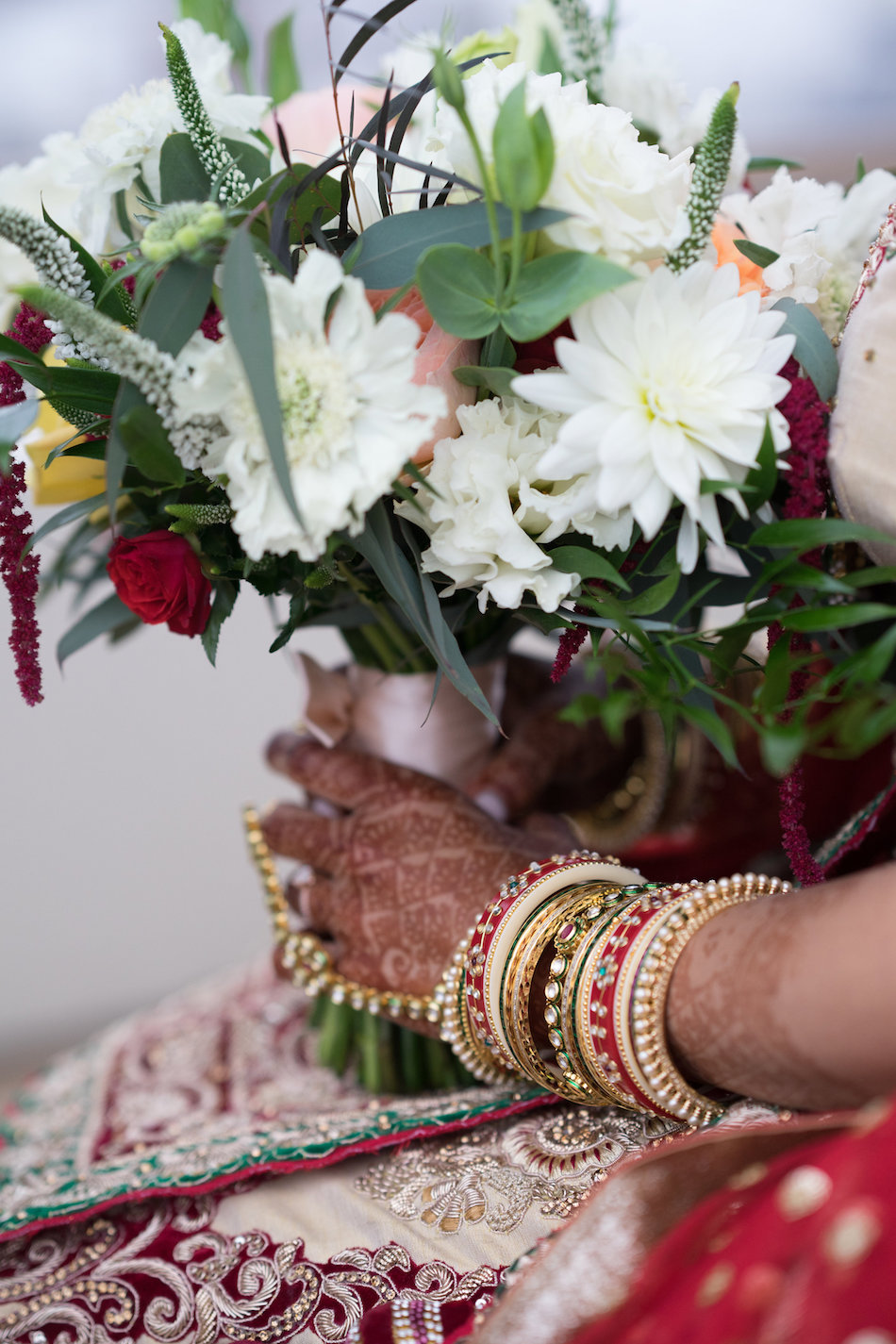 Indian Wedding Featured On Maharani Weddings Flowers By Cina