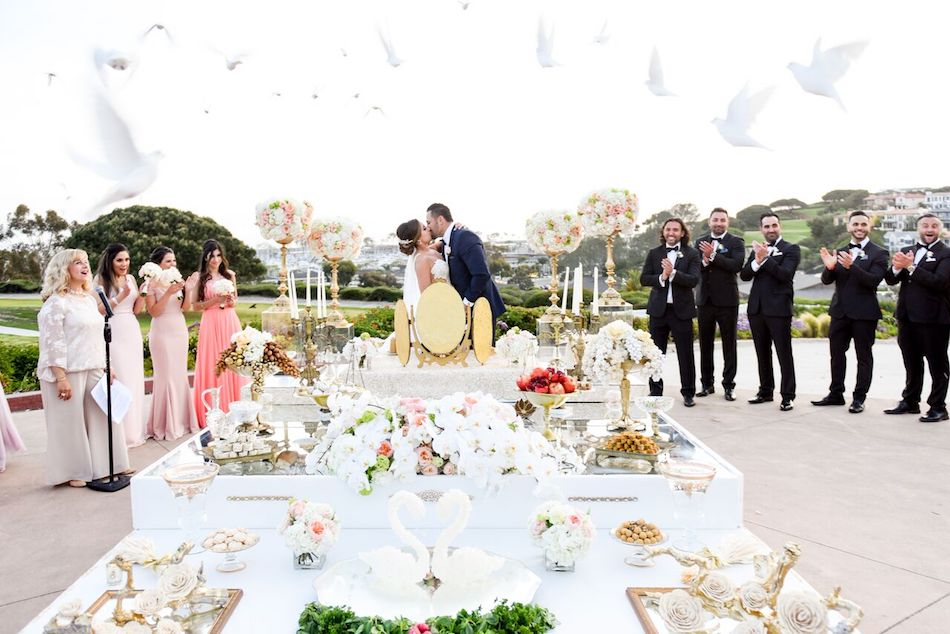 Modern Day Persian Wedding Featured on Wedded Wonderland