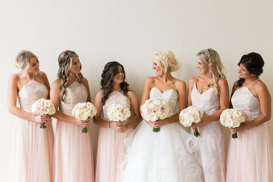 White and Blush Wedding Bliss at Monarch Beach Resort - Flowers by Cina