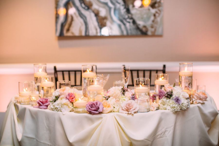 Hilton Waterfront Beach Resor, wedding, wedding flowers, blush, lavender, flowers by cina, floral design, orange county florist, orange county wedding florist, orange county weddings, floral design, wedding flowers